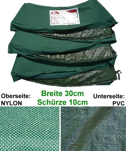 profi nylon trampolin randabdeckung 5 gr en zur wahl ebay. Black Bedroom Furniture Sets. Home Design Ideas